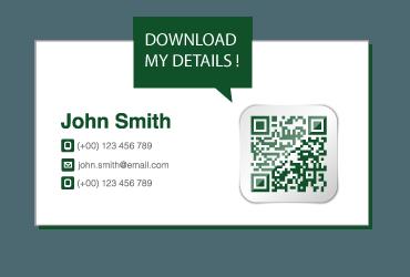 Wordpress QR vCard plugin
